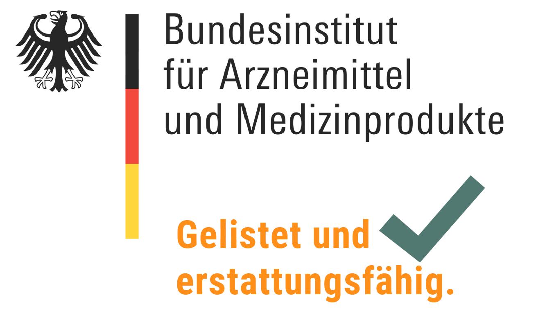 Logo Bundesinstitut für Arzneimittel und Medizinprodukte